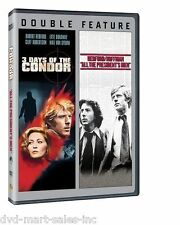 3 Days of the Condor / All the President's Men (DVD, 2013, 2-Disc Set)  New