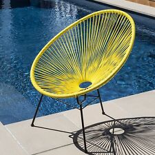 Milan Direct Outdoor Chairs NEW PE Rattan Acapulco Chair Replica