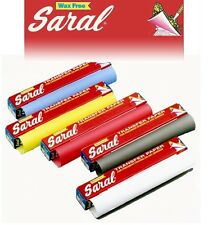 Saral Wax Free Transfer Paper Roll 3.66M x 305mm (White, Yellow, Graphite)