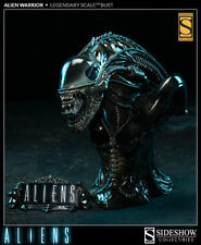 SIDESHOW EXCLUSIVE Alien Warrior Bust Legendary Scale Statue FACTORY SEALED