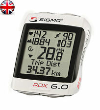 SIGMA ROX 6.0 STS + CAD Cadence Wireless Bicycle Bike Computer HRM Speedometer