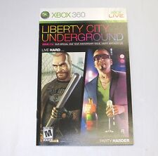 Grand Theft Auto : Episodes of Liberty City Manual Booklet ONLY!! (XBOX 360)
