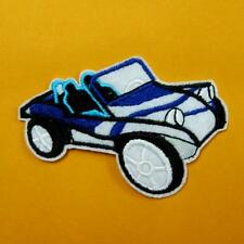 Truck Bus Sports Car Racing Iron on Sew Patch Embroidery Applique Badge Biker