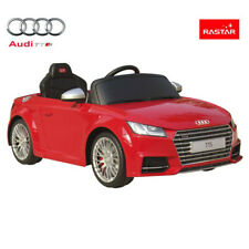 Rastar Licensed Audi TTS 12V Kids Ride on Car With Remote Control - Red