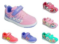 New Womens Girls Casual Trainers Running Lace Up Sneakers Flat Pumps Shoes Size