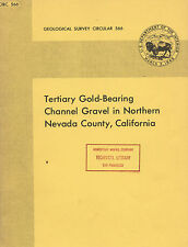 $600 MILLION in gold awaits recovery in Nevada County, Calif.; rare 1st ed VG+