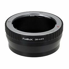 Fotodiox Lens Mount Adapter, Olympus OM Zuiko Lens to MFT Micro 4/3 Four Thirds
