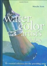Artist's Bibles Watercolor (hc) by Marylin Scott NEW