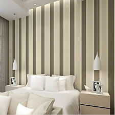 10m High texture Modern minimalist Multicolor striped PVC Wallpaper Roll 5.3㎡