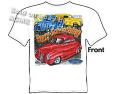Hot Rod T Shirts 1940 Ford Shirt Hot Rod Apparel Automotive Vintage Car Shirts