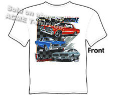 GTO Shirts Pontiac T Shirts Muscle Car Clothing Apparel 1964 1966 1969 64 66 69