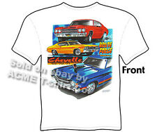 Chevelle T Shirt Chevy T Shirt Muscle Car Apparel 1969 1970 1971 69 70 71 Malibu