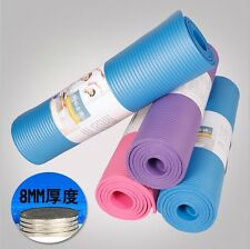 8/10mm Yoga Mat Non-slip Exercise Fitness Pad Mat Lose Weight