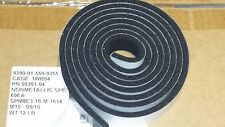 """lot of 2 Weather Seal 1"""" wide x 1/4"""" x 8 adhesive' tape closed cell foam A+"""