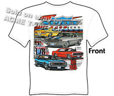 Camaro T Shirt 67 68 69 Muscle Car Tee Shirts 1967 1968 1969 Sz M L XL 2XL 3XL