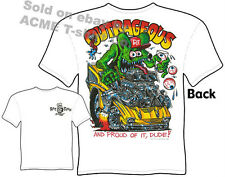 Rat Fink Shirts Chevy Shirt Hot Rod Clothes Big Daddy Shirt Outrageous 1957 57