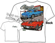 Corvette T Shirts Stingray Corvette Apparel Chevrolet Clothing 1963-1967 63-67