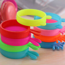 FASHION FLUORESCENT PROTECTIVE SILICONE BRACELET CELL PHONE COVER BUMPER CASE X2