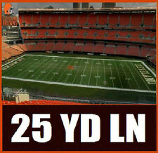 2 TIX SAN DIEGO CHARGERS VS CLEVELAND BROWNS ~ ROW 2