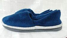 isotoner Women's Union Microterry Espadrille Slippers 90742  Blue  118U
