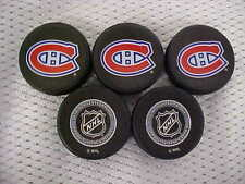 2016 NHL Montreal Canadiens National Hockey League Mini Puck Charms Lot of (5)
