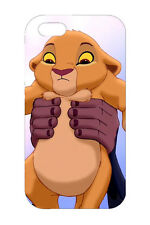 The Lion King Young Simba Design Hard Case Cover For Apple iPhone 6s 6Plus 7 7P
