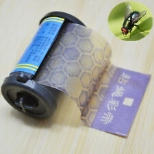 1~10X Fly Sticky Paper Strip Stop Mosquito Flying Insect Catcher Bug Wasp Trap
