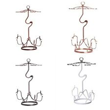 Wine Bottle Rack Wine Glass Rack Hanging Upside Down Cup Holder Hanging QT