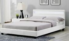 Active Leisure Beds NEW Prada LED Wooden Bed Frame