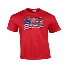 American US Flag Patriotic America Shirt USA US Gildan T-Shirt #88