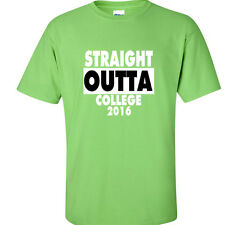 Class of 2016 COLLEGE Graduation T Shirt Graduate Tee Straight Outta Kiwi
