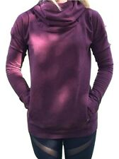 NWT Lululemon Stress Less Hoodie Heathered Bordeaux Red Purple Sizes 4 6 8 10 12