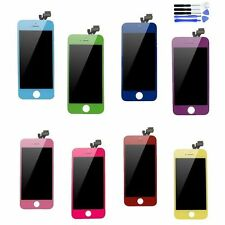 Colorful Touch Screen Glass Digitizer and LCD Assembly for iPhone 5 original