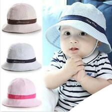 Toddler Kids Girl Boy Baby Infant Summer Sun Protection Hat Beanie Cap