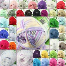 Sale new 1skein×50g Soft Natural Smooth Bamboo Cotton hand Knitting Yarn