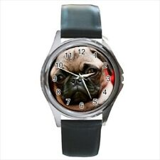Cute Pug Stainless Steel Watches - Puppy Dog