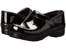 NIB Dansko Professional Patent Leather Clog in Black