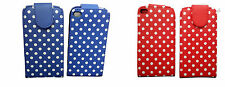 Polka Dot FLIP PU LEATHER CASE COVER FOR APPLE iPod touch 4