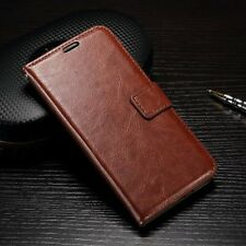 New Luxury Leather Flip Card Wallet Stand Case Cover Pouch For Huawei Ascend P9