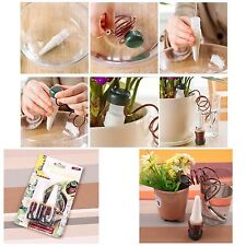 2Pcs Indoor Plant Automatic Drip Irrigation Water System Flower Pot Waterer Tool