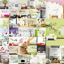 DIY Removable Art Vinyl Quote Wall Sticker Decal Mural Home Room Decoration HOT