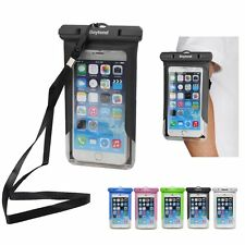 Waterproof Underwater Pouch Dry Bag Case Cover Armband For iPhone Cell Phone