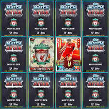 TOPPS Match Attax 2015 2016 football cards Base MOM Liverpool - VARIOUS