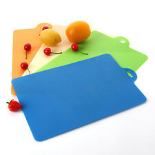 Plastic 2 Sides Hygienic Kitchen Slicing Cutting Chopping Boards Multi-Color USA