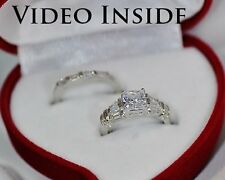 1.88CT Fine Jewelry Fine Jewelry Sets Diamonds & Gemstones Ring Sterling Silver