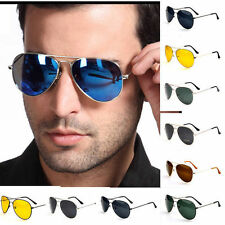 Hot Unisex Women Men Vintage Retro Fashion Mirror Lens Sunglasses Glasses US