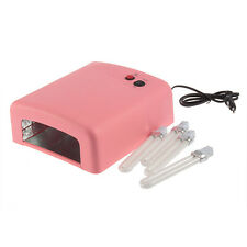 36W UV Nail Art Lamp Gel Curing Tube Light Dryer 220V EU Plug TOP