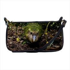 Kakapo Bird Mini Coin Purse & Shoulder Clutch Handbag