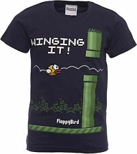 Official FLAPPY BIRD Youth T-Shirts FlappyBird T Shirts Ages 5-15