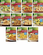 German KNORR FIX - For Vegetables and Schnitzel - 4 bags - SHIPPING FREE